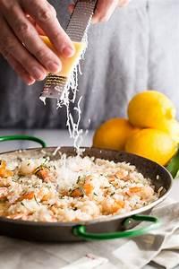 lemon shrimp risotto with fresh rosemary foodness gracious