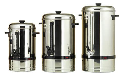 la batterie de cuisine percolateur à café professionnel