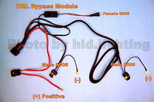Hid Drl Bypass 9006 9005 H11 H10 H9 H8 Hb3 Hb4 Relay