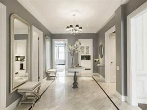peinture couloir et decoration de l39entree 57 idees en With awesome quelle couleur pour un couloir 18 cuisine peinte en beige
