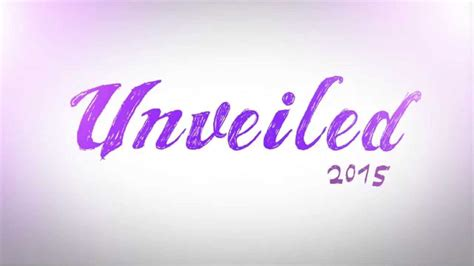 Unveiled 2015 - YouTube
