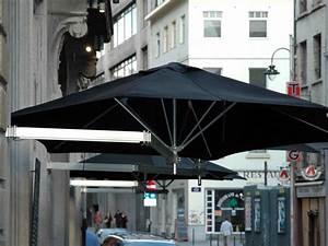 Luxury Umbrellas Paraflex Duo Wallflex 9 Foot Push Lift