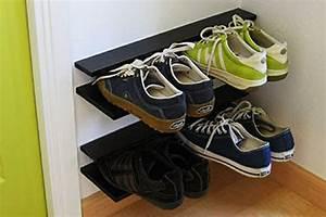 Schuhe Aufbewahren Ideen : selbermachen 35 coole schuhaufbewahrung ideen ~ Markanthonyermac.com Haus und Dekorationen