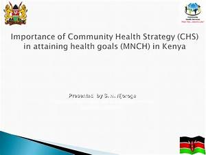 Importance of Community Health Strategy (CHS) in attaining ...