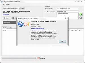 Google Disavow Links Generator