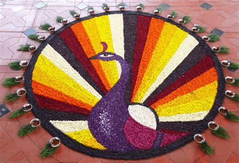 easy rangoli designs  diwali