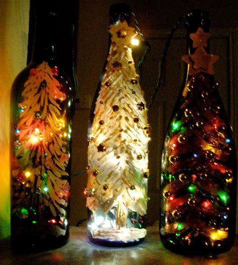 christmas wine bottle lights 183 how to make a bottle l