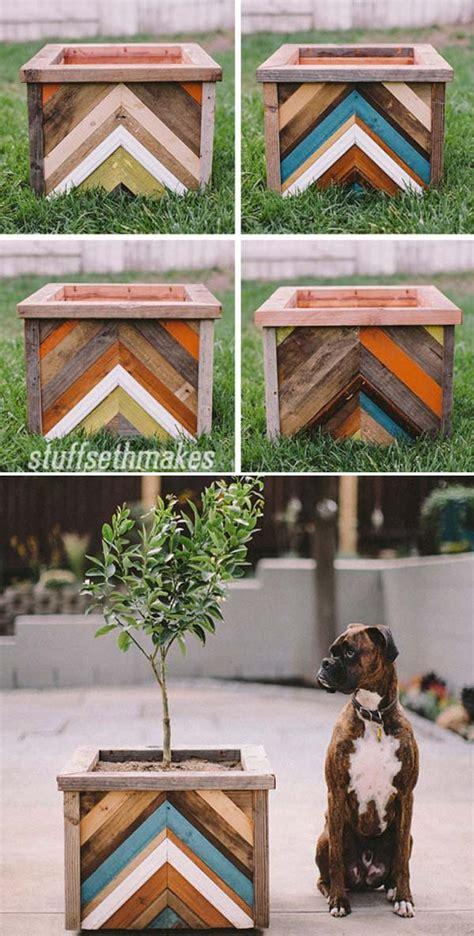 cutest diy planter box ideas  beauty  home