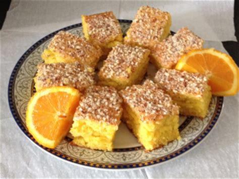 cuisine tunisienne gateau gâteau à l 39 orange khobzet borgden dessert