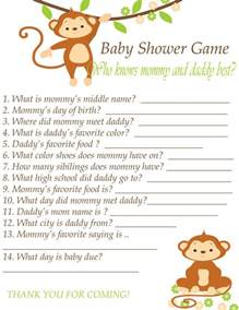 Guessing Games Baby Shower