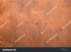 Copper Metallic Painted Surface Background Stock Photo ...