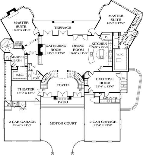 dual master suites lv st floor master suite