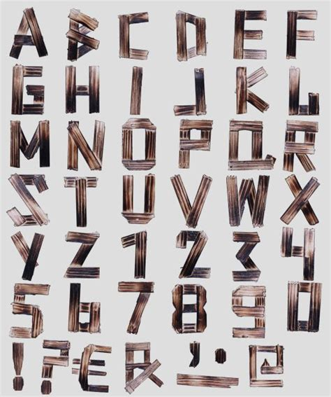 wood font letters www imgkid com the image kid has it