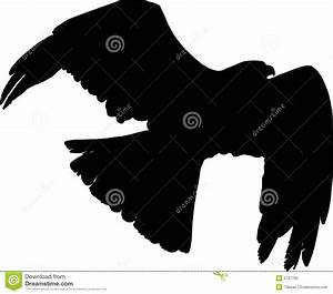 Vector Flying Falcon Stock Photography - Image: 5727702
