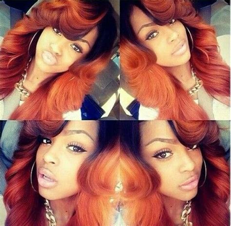 Sew In Weave Hairstyles With Color by Best 25 Colored Weave Hairstyles Ideas On