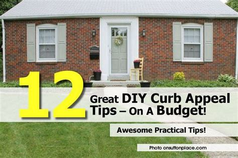 12 Great Diy Curb Appeal Tips  On A Budget