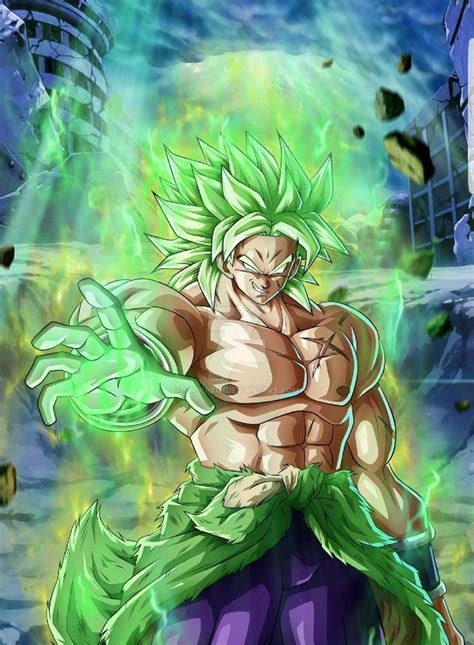 broly   wallpaper  silverbull