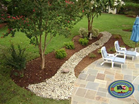 landscape and drainage solutions drainage design galleries independence landscape lawn care