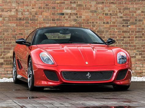 For stopping power, the 599 gto braking system includes vented discs at the front and vented discs at the rear. 2011 Ferrari 599 GTO SOLD | Car And Classic