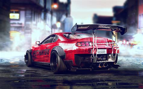 Toyota Supra Sports Car Wallpapers