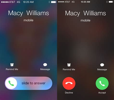 how to in iphone why iphones switch between a slider and buttons for calls