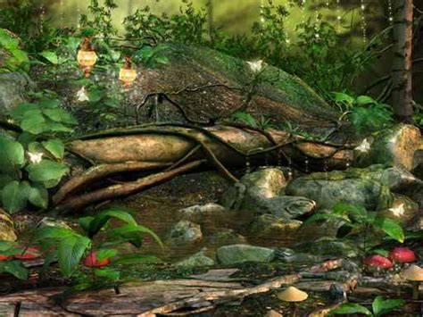 wall mural children fairy forest large repositionable