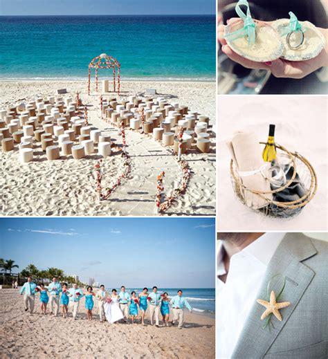 romantic blue beach wedding ideas for summer 2014 jpg 600