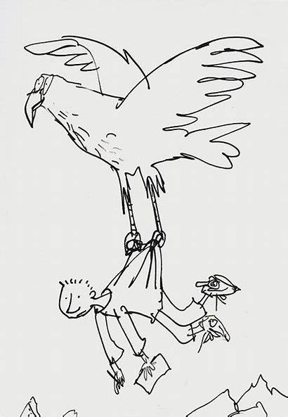 Blake Quentin Drawing Illustrations Dahl Roald Simple