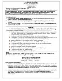 resume titles for freshers resume name exles for fresher resume template exle