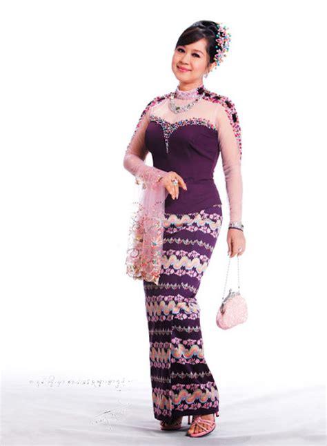 myanmar actresses  beautiful myanmar fashion dresses