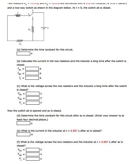 Two Resistors Are Con