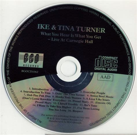 Ike & Tina Turner  What You Hear Is What You Get (1971