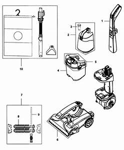 Hoover Steamvac Plus 5 Rotating Brushes Manual Western