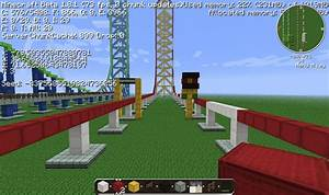Top Thrill Dragster Minecraft Project