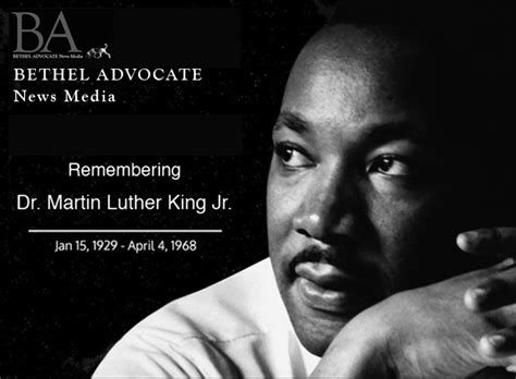 remembering dr martin luther king jr  january
