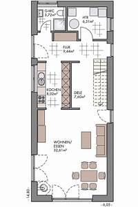 Schmale Häuser Grundrisse : langes schmales haus grundriss wohn design ~ Indierocktalk.com Haus und Dekorationen