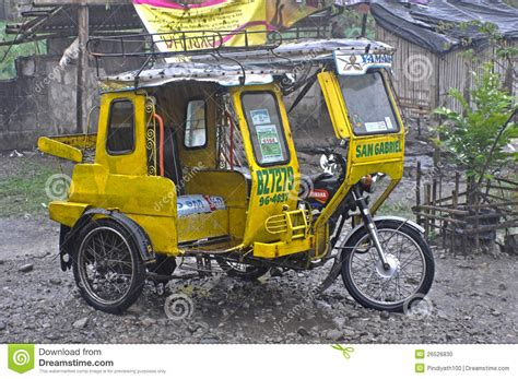 philippine tricycle design philippines tricycle editorial image image 26526830