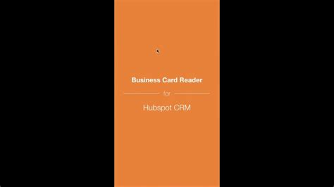 How To Set Up The Integration Between Hubspot Crm And Business Card Printing Qatar Holders Cheap Visiting Construction Design Creative Website Dubai Wallet Pattern Psd Free Download Nz
