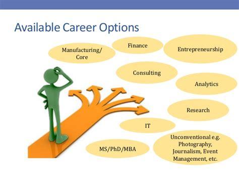 choosing career in core sector