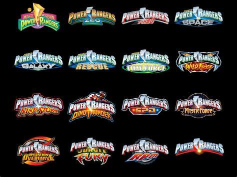 ranger list list of power rangers