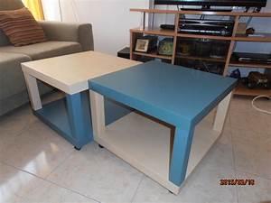 Table Basse Ikea : quad lack coffee table ikea hackers ~ Nature-et-papiers.com Idées de Décoration