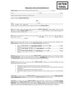 pin oleh legal akses  perjanjian kerja