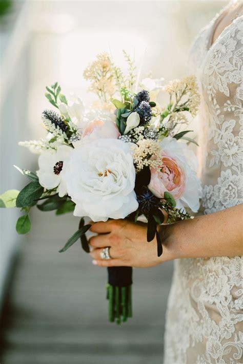 ideas  wedding flowers  pinterest bouquets