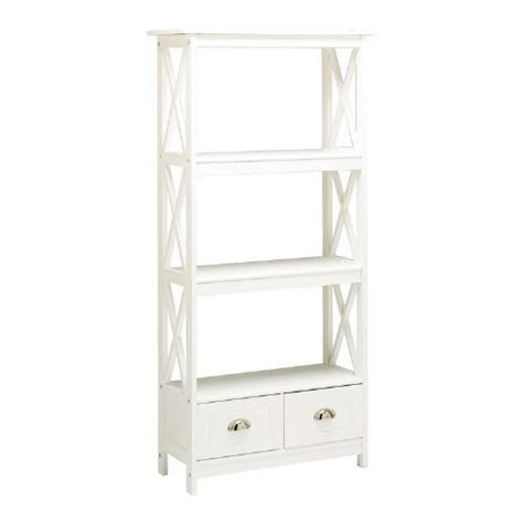 white bookcase with drawers white x side bookcase with 2 drawers christmas tree