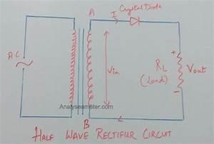 Half Wave Rectifier Circuit