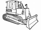 Coloriage Chantier Coloring Bulldozer Engin Shovel Mechanical Wow Construction Mecanic Printable Engins Transportation Supercoloriage sketch template