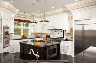 beautiful kitchens with islands 36 beautiful white luxury kitchen designs pictures