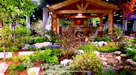 boston flower and garden show 2018 landscape garden displays