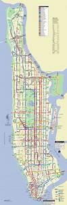Plan De Manhattan : bus netzplan und karte von new york stationen und linien und ~ Melissatoandfro.com Idées de Décoration