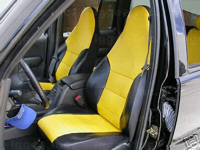 jeep liberty   leather  custom seat cover ebay